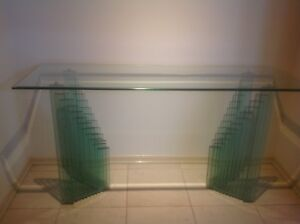 Glass Table - heavy 3 piece