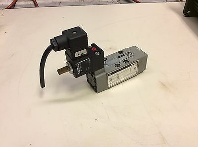Bosch 0 820 022 961 Solenoid Operated Valve, 1 824 010 223 24/48V Coils, Used