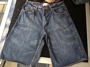 2 NEW PAIRS OF MENS  LONGER LENGTH TARGET DENIM SHORTS - SIZE 87(36') Browns Plains Logan Area Preview