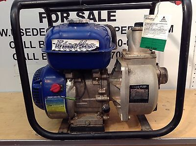 2 Centrifugal Water Pump Gas Power Dewatering Transfer Pumps Sewage