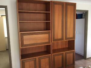 Parker wall units - FREE. - URGENT must go today Gateshead Lake Macquarie Area Preview