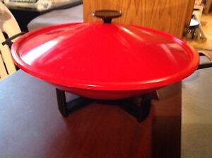 Wok électrique de 15 pouces de diamètre