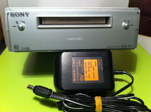 Sony MDS-NT1 MiniDisc Deck Net-MD PC Minidisk working Rare Japanese version