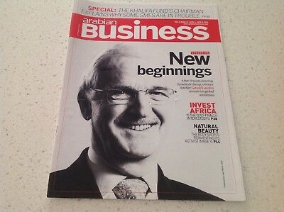 BUSINESS BOOK ARABIAN BUSINESS MAGAZINE, AS NEW CONDITION, FREE POST