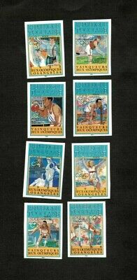 Togo 1984 SC# C494-7, C502-5 - Olympics, Sports - Imperf Set of 8 Stamps - MNH