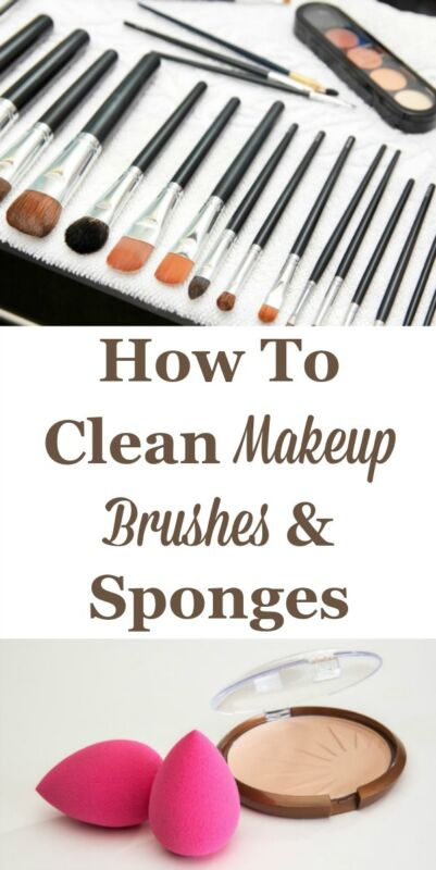 how to clean makeup brushes sponges ebay. Black Bedroom Furniture Sets. Home Design Ideas