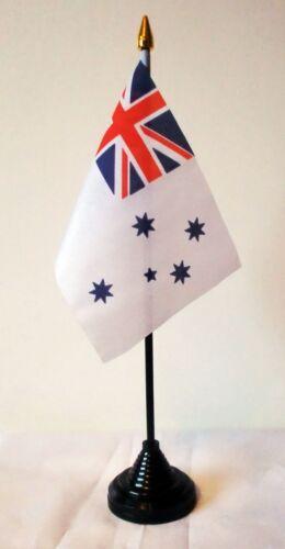 AUSTRALIAN NAVAL ENSIGN TABLE FLAG navy Australia black base MELBOURNE SYDNEY