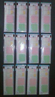 Lot Of 12 Martha Stewart Office Note Tabs Sticky Note Label Planner Insert