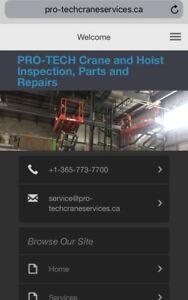 Overhead crane certification