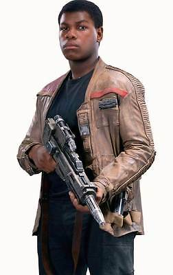 Star Wars Finn John Boyega Costume - Poe Dameron Leather Jacket