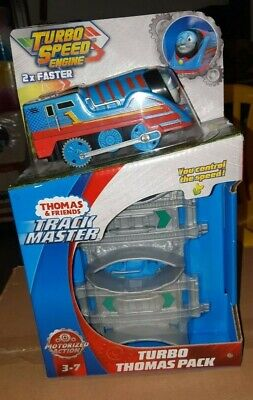 Thomas & Friends Track Master Turbo Speed Thomas Pack The Tank Engine 2x Faster