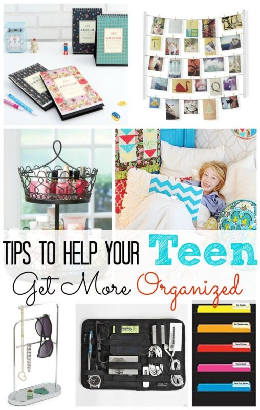 5 Tips To Help Your Teen Get More Organized Ebay