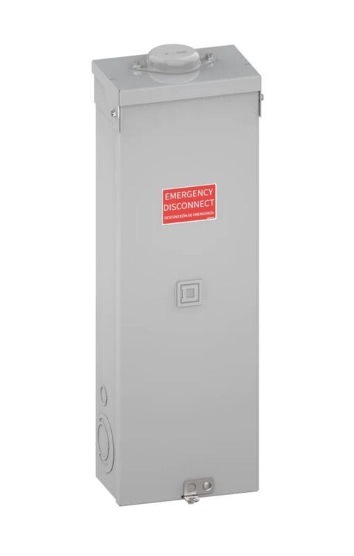 Square D QO 200 Amp Circuit Breaker Q2200MRBE Enclosure With QDL22200 PowerPact
