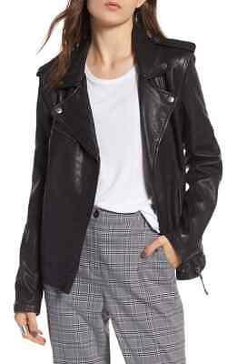 NEW! TREASURE & BOND Convertible Leather Jacket (XS)