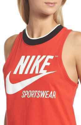Nike Women's GX Rib Archive Crop Tank Top 909149-675, SIZE XL