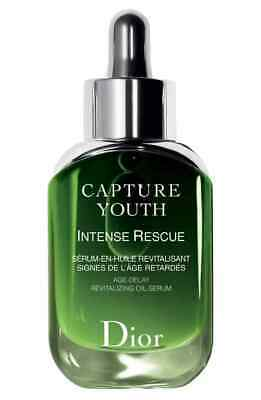 Christian Dior Capture Youth INTENSE RESCUE Revitalizing Oil Serum 1.0 oz (Christian Dior Capture)