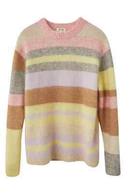 NWT ACNE STUDIOS Kalbah Stripe Wool & Mohair Blend Sweater Sz Small $430