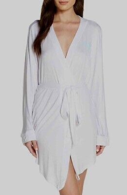 """HONEYDEW INTIMATES All American Jersey """"Wifey"""" Robe, White, X-Large"""