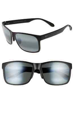 Die Maui Jim Rot Sand B432 2M Sonnenbrille (Kleiner Kratzer auf Linse)