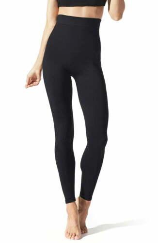 New! $64 BLANQI Everyday High Waist Postpartum/Nursing Leggings, Black; SMALL