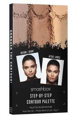 Face Makeup Steps (Smashbox Step By Step Contour Palette Contour Bronze Highlight 0.21oz)