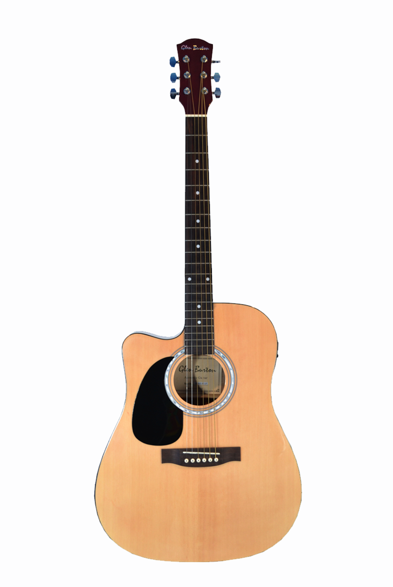 Glen Burton Cutaway Acoustic-Electric Guitar Left Handed