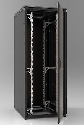 """19"""" Netzwerkschrank 42HE 800x1000 Serverschrank Rack ZPAS SCHWARZ"""