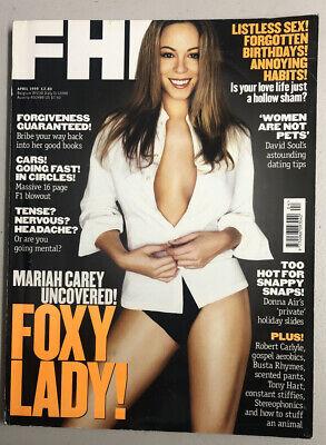 FHM UK - British Magazine April 1999 Mariah Carey