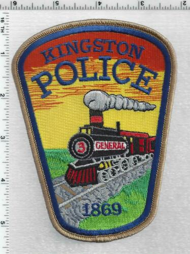 Kingston Police (Georgia) 4th Issue Shoulder Patch