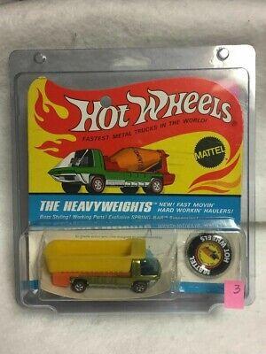 Lot Of 2 Hot Wheels Vintage  BP (Redlines) Heavy Weight Case Medium size **