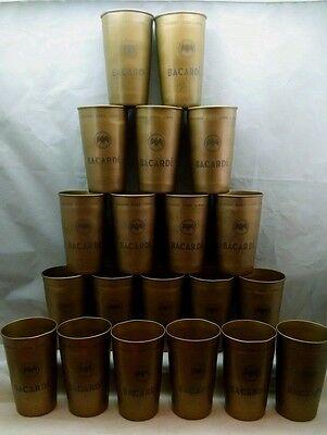 20 Bacardi Cuba Libre 12 ounce metal cups - NEW
