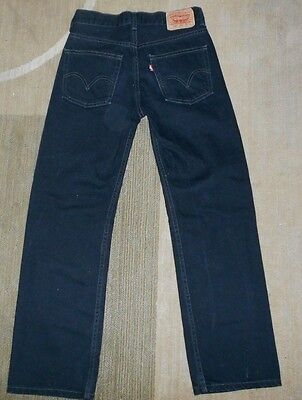 Boys Levis 550 Relaxed Fit  Black Jeans Size 14 Slim ( 25 x 28)  New