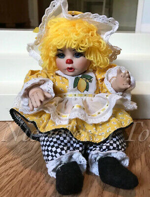 Marie Osmond Tiny Tot Rag A Muffin Doll Lemon Meringue ~ Charisma FREE Shipping