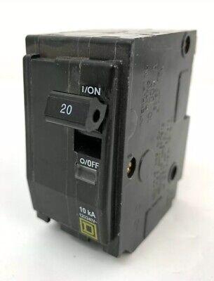Square D Qo 20 Amp Double Pole Circuit Breaker Dp-4075 - New