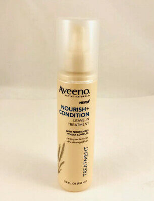 Aveeno Active Naturals Nourish Condition Leave In Treatment 5.2 Ounce