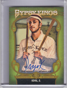 2012-TOPPS-GYPSY-QUEEN-GKA-1-DRAGE-KOVAL-AUTO