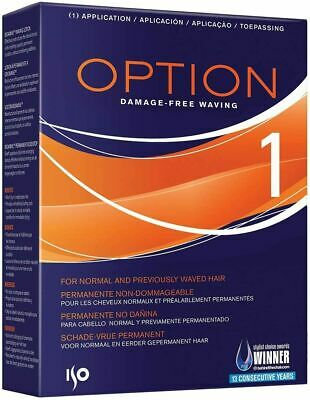 ISO Option 1 Perm For Normal and Previously Permed Hair