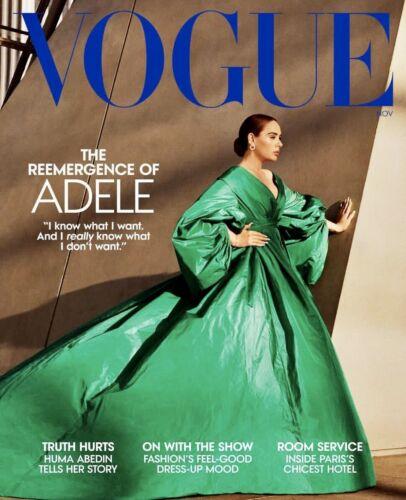Adele - Vogue Magazine - November 2021 - BRAND NEW - NO LABEL