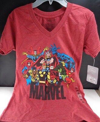 Marvel Comics T-shirt XS Thor She Hulk Dare Devil Red New (Teen Hulk)
