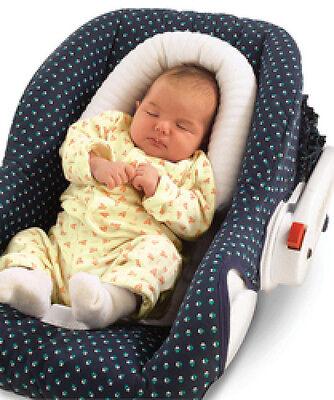 Kopfstütze Soft geeignet für Liegeschalen, Kinderwagen Farbe Blau