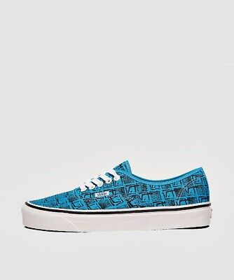 Mens Vans Anaheim Authentic 44 DX Turquoise Trainers (LF2) RRP £59.99