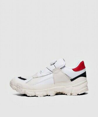 Mens Puma Trail Fox Disc Han White/Red/Black Trainers (LF2) RRP £160.00