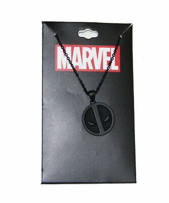 Marvel Deadpool logo Necklace By Bioworld