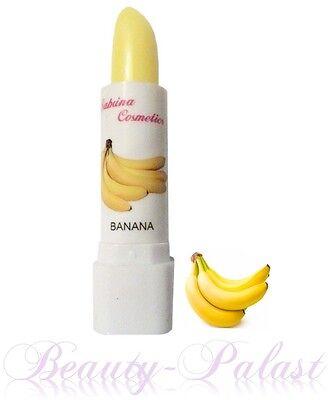 Lippenbalsam mit Bananen Duft mit Fruchtaroma Lippenpflege Pflegestift Kosmetik