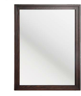 Foremost Cherry Vanity - FOREMOST CORNELL CRCM2632 26 W x 32 L Bathroom Vanity Wall Mirror Cherry Finish