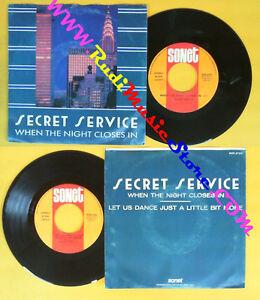 LP 45 7'' SECRET SERVICE When the night closes in Let us dance just no cd mc dvd - Italia - RESTITUZIONE ACCETTATA ENTRO 14 GIORNI. ATTENZIONE!!!! ASSICURATEVI DI CAPIRE BENE COSA STATE COMPRANDO, LEGGETE BENE LE DESCRIZIONI E GUARDATE LE FOTO CON ATTENZIONE PER FAVORE, VI CHIEDO DI ACQUISTARE SOLO QUANDO SARETE BEN SICURI DI CIO' CHE S - Italia