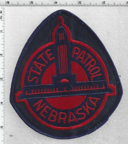 State Patrol (Nebraska) 1st Issue Uniform Take-Off Shoulder Patch