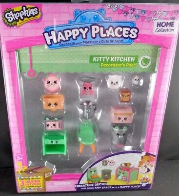 Shopkins Decorator Pack Kitty Kitchen Playset