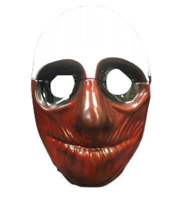 UK WOLF PAYDAY 2 THE HEIST ADULT MASK HALLOWEEN FANCY DRESS UP COSTUME COSPLAY 1