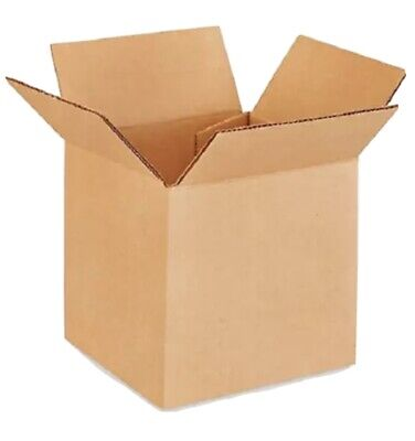 5x5x5 Shipping Boxes - 25 Pack - Packing Mailing Moving Storage